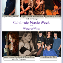 Celebrate Music Week with Water 2 Wine