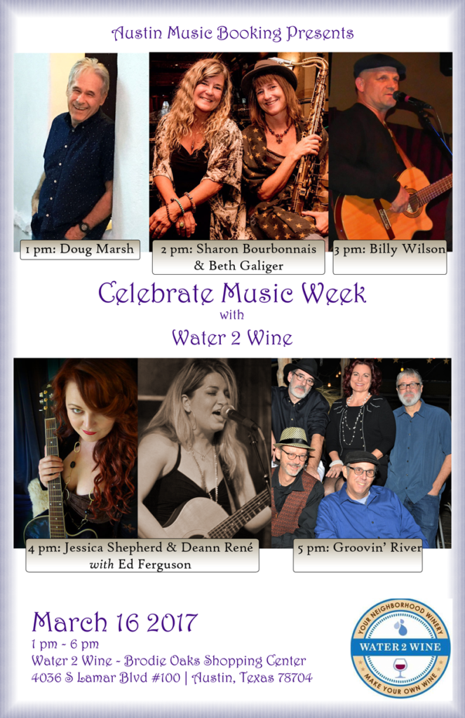 Water 2 Wine Custom Winery Thursday, March 16 at 1 PM - 6 PM